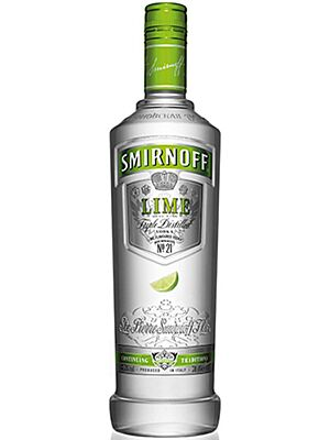Smirnoff Lime Vodka 1 l