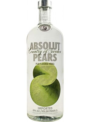 Absolut Pears (Birne) Vodka 1 Liter 40%