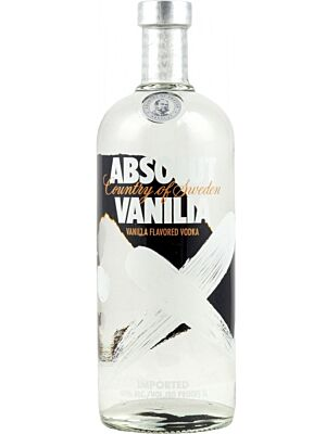 Absolut Vodka Vanilla 1 Litre 40%