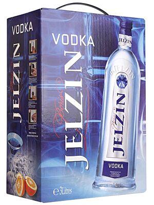 Boris Jelzin Vodka Bag in Box 3 Liter 37,5%