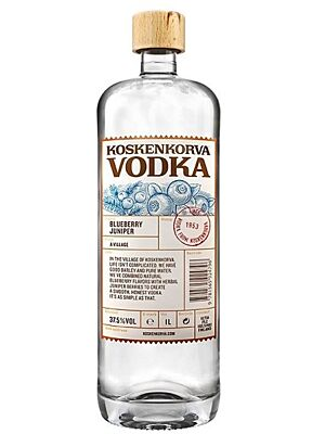 Koskenkorva Blueberry Juniper Vodka 37,5 % 1,0 l