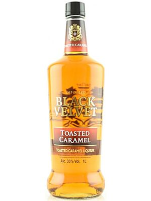 Black Velvet Toasted Caramel Kanadischer Whisky 35,0 % 1,0 l