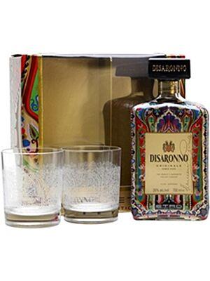 Disaronno Etro Limited Edition mit 2 Gläsern 28,0 % 0,7 l