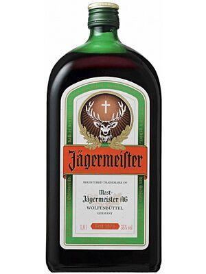 Jägermeister Kräuterlikör 1 Liter 35%