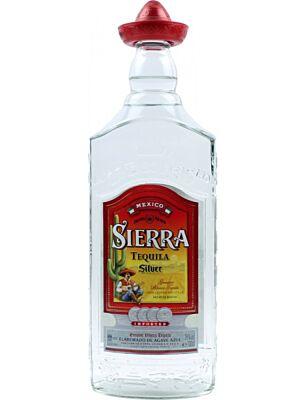Sierra Tequila Silver aus Mexiko 1 Liter 38%