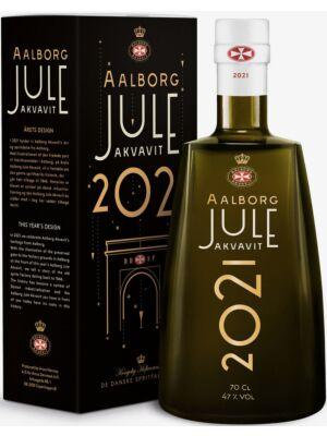 Aalborg Jule Akvavit 2021 47% 0,7 liter