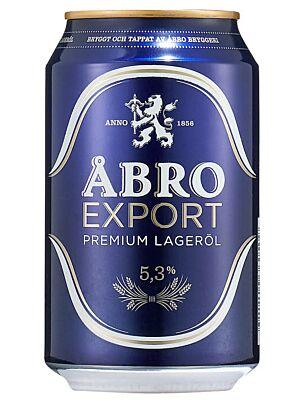 Åbro Export 5.3% 24 x 0,33 liter