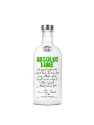 Absolut Lime Vodka 40% 0,7l
