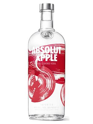 Absolut Apple Vodka 40% 1,0l