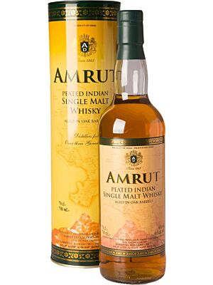 Amrut Peated Indian Single Malt Whisky 46% 0,7l