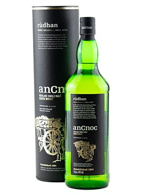AnCnoc Rudhan Highlands Single Malt Scotch Whisky 46% 1,0l