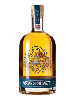 Arvesolvet Aquavit from Norway 40% 1.0l