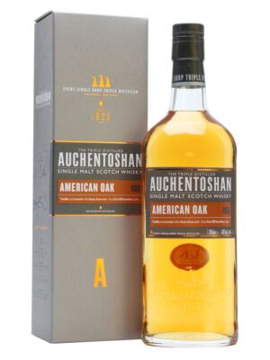 Auchentoshan American Oak Lowland Single Malt Scotch Whisky 40% 0,7l