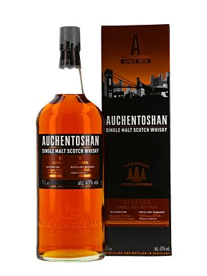 Auchentoshan Dark Oak Single Malt Whisky 43% 1,0l