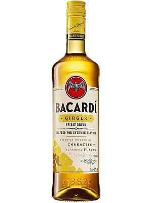 Bacardi Ginger Flavoured Spirit Drink 32% 1,0l