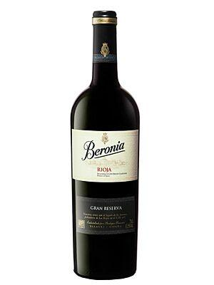 Beronia Gran Reserva 14,5% 0,75l