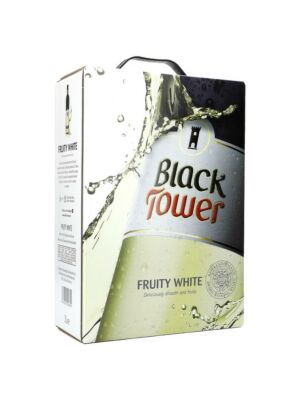Black Tower Fruity White Wine 9.6% 3.0l