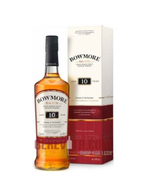 Bowmore 10 Jahre Dark and Intense Islay Single Malt Whisky 40% 1l