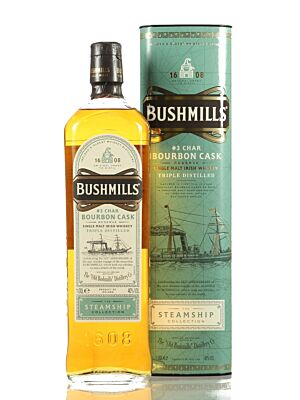 Bushmills Steamship Bourbon Cask Irish Whiskey 40% 1,0l
