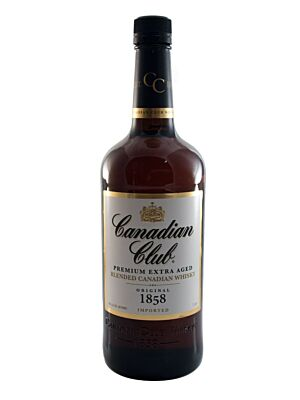Canadian Club 6 Years Old Blended Canadian Whisky 40% 1,0l
