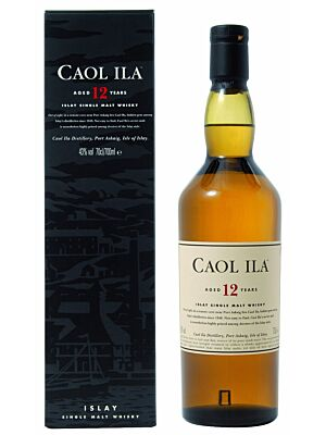 Caol Ila 12 years Islay Single Malt Whisky 0,7 l