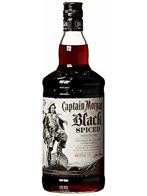 Captain Morgan Black Spiced Rum 1,0 l