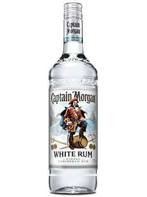 Captain Morgan White Jamaican Rum 37.5% 1.0l