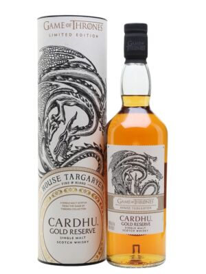Cardhu Gold Reserve - Game of Thrones Edition 40% 0,7l