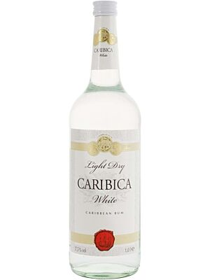Caribica White Rum aus der Karibik 35,5% 1,0l