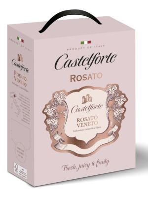 Castelforte Rosato Veneto 12% 3,0l BiB