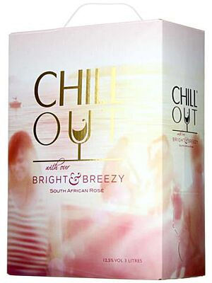 Chill Out Bright and Breezy Rosé 12% 3.0l