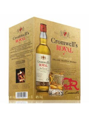 Cromwells Royal Deluxe Scotch Whisky 3 Liter Bag in Box 40.0