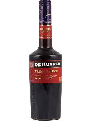 De Kuyper Creme de Cassis Liqueur 15% 0.7l