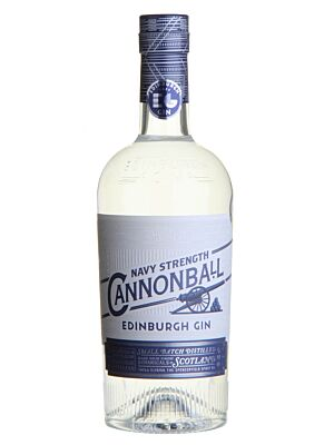 Edinburgh Cannonball Gin Navy Strength 57,2% 0,7l