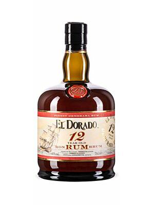 El Dorado 12 Years Old Rum 0,7 l