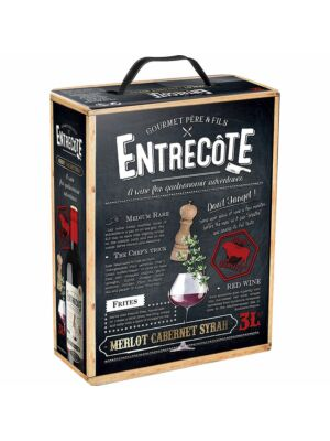 Entrecote Merlot Cabernet Syrah BiB 14% 3,0l