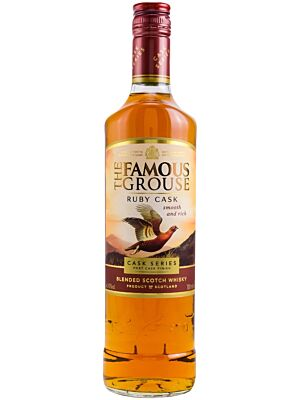 The Famous Grouse Ruby Cask - Cask Series Port Cask 40% 1,0l
