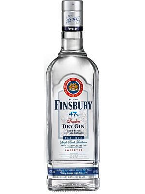 Finsbury Platinum London Dry Gin 47% 0,7l