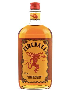 Fireball Cinnamon Whisky Likör 33% 1,0l