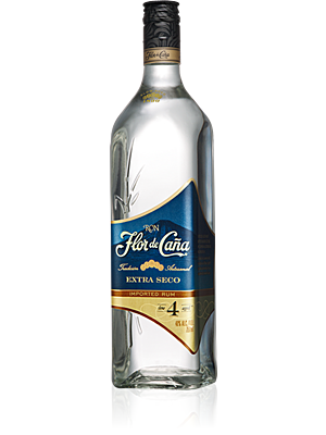 Flor de Cana 4 years Extra Dry / Seco 0,7 l