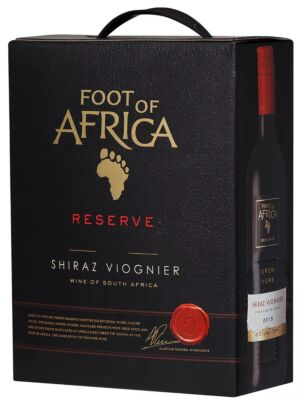 Foot of Africa Shiraz Viognier Bag in Box 14% 3.0l