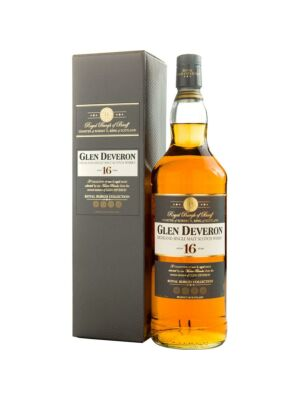 Glen Deveron 16 Years Highland Single Malt Scotch Whisky 40% 1,0l