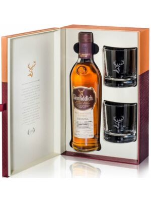 Glenfiddich Malt Masters Edition + 2 Gläser Speyside Single Malt Whisky 43% 0,7l