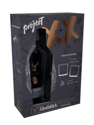 Glenfiddich Project XX with 2 Glasses 47% 0.7 l