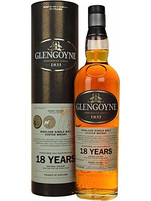 Glengoyne 18 Jahre Highland Single Malt Scotch Whisky 40% 0,7l