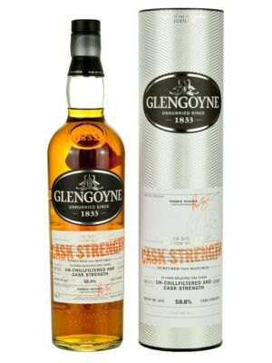 Glengoyne Cask Strength Highland Single Malt Scotch Whisky 58,7% 0,7 l