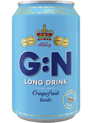 G:N Longdrink Grapefruit 24 x 0 ,33 liter