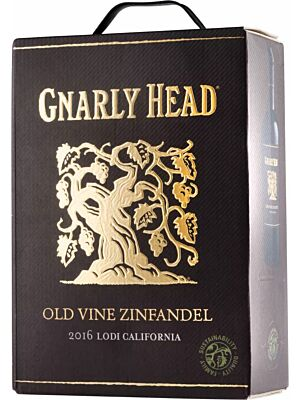 Gnarly Head Old Vine Zinfandel Bag in Box (BiB)
