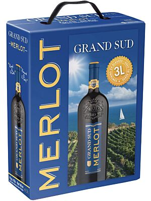 Grand Sud Merlot Bag in Box 13% 3,0l