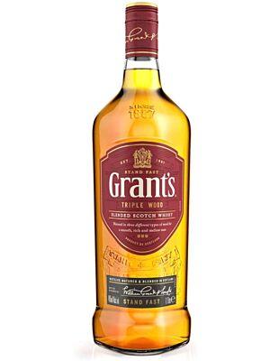 Grants Triple Wood Blended Scotch Whisky 43% 1,0l